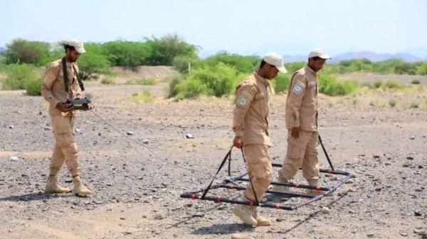مسام ينزع 3 آلاف لغم من مخلفات ما زرعه الحوثيون في عدن والجوف