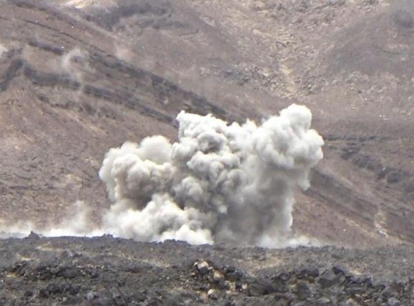 كسر هجوم للحوثيين غرب مأرب وطيران التحالف يدك تعزيزاتهم