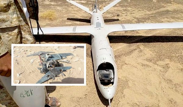 مأرب.. إسقاط طائرتين مسيرتين للحوثيين إحداهما كانت تستهدف سوقاً شعبية برغوان