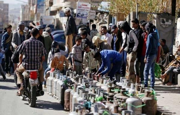 منظمة دولية تكشف: 200 مليار ريال أرباح الحوثيين السنوية من الغاز المنزلي
